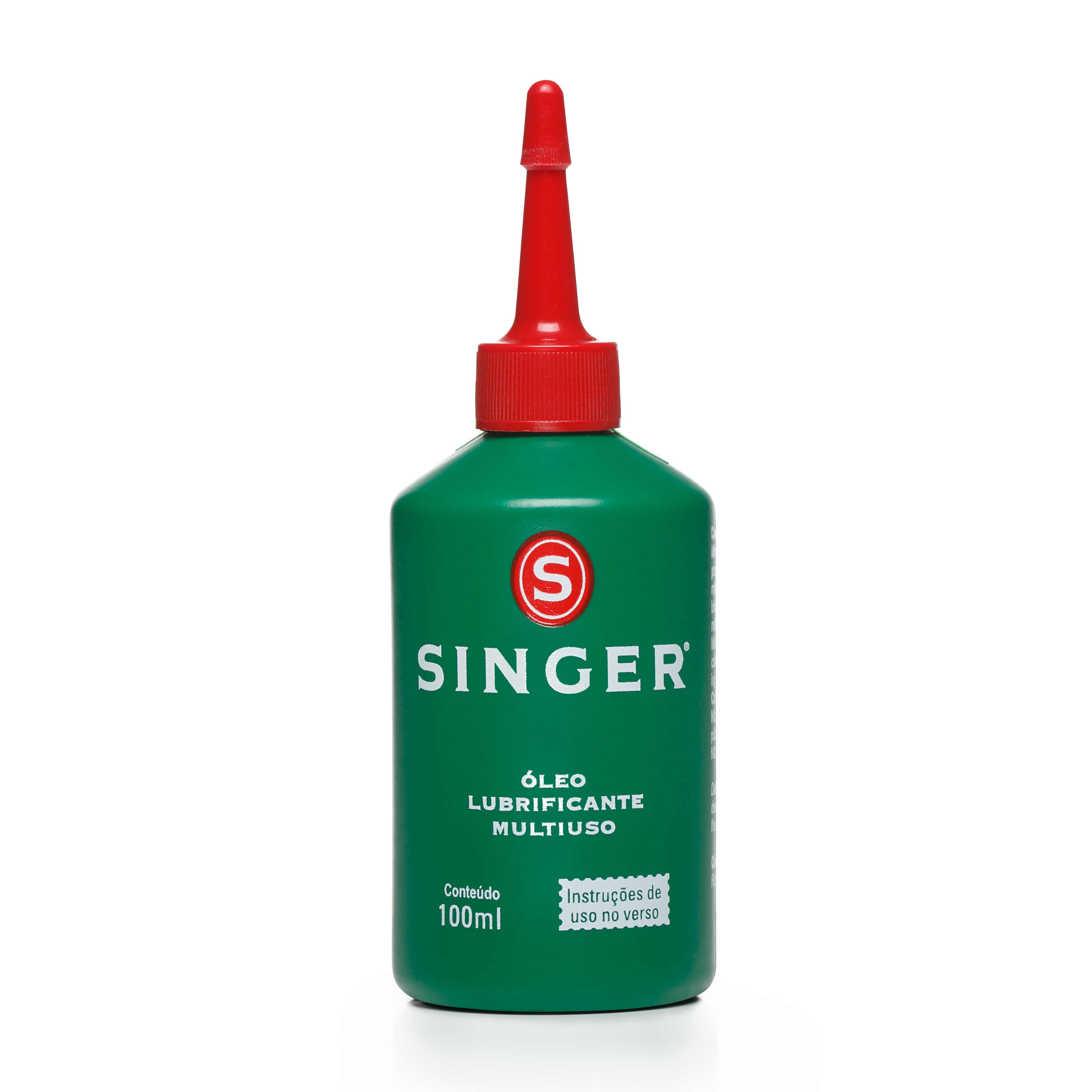 Óleo lubrificante Singer para máquina de costura - 100ml