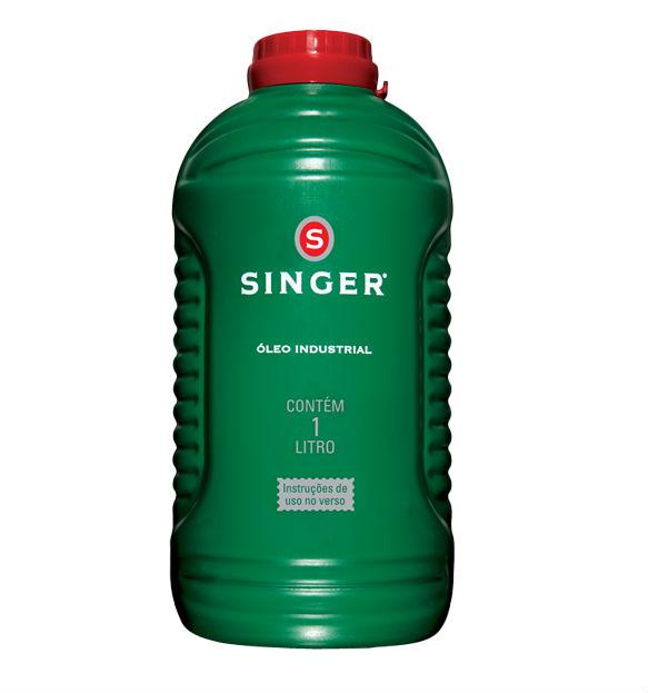 Óleo lubrificante Singer para máquina de costura - 1 Litro